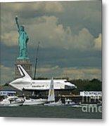 Shuttle Enterprise 3 Metal Print