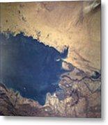 Shuttle Photograph Of Kuwait, Iraq & Iran Metal Print by Nasa