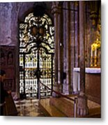 Side Chapel St Stephens - Vienna Metal Print