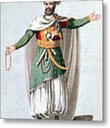 Sidy Hafsan, Bey Of Tripoli, 1816 Metal Print