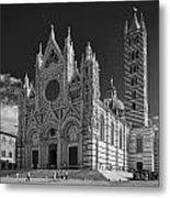Siena Duomo Metal Print by Michael Avory