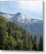 Sierra First Snow Metal Print
