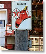 Sign - Fire Chief Gasoline Metal Print