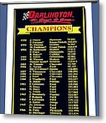 Sign Of Champions Metal Print