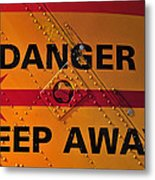 Signs Of Danger Metal Print