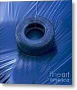 Silage Metal Print by Bernard Jaubert