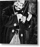 Silent Film Still: Clown Metal Print