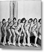 Silent Still: Showgirls Metal Print