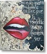 Silent Thoughts Metal Print