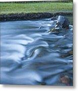 Silky Stream 2 Metal Print