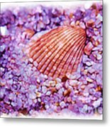 Silver Bells And Cockle Shells . . . Metal Print