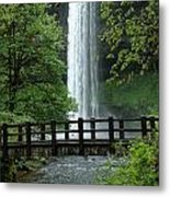 Silver Falls 2 In Oregon Metal Print