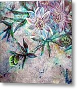 Silver Passions Metal Print