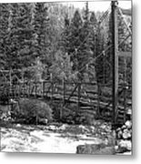 Silverton Bridge Metal Print