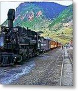 Silverton Train Metal Print
