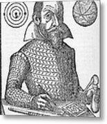 Simon Marius, German Astronomer Metal Print