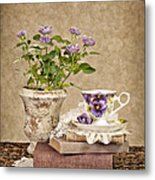 Simple Pleasures Metal Print by Cheryl Davis