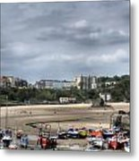 Simply North Beach From Tenby Harbour Metal Print