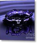 Simply Purple Metal Print