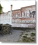 Sinclair Motor Oil Metal Print