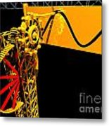 Sine Wave Machine Landscape 1 Metal Print