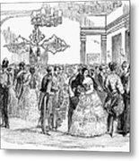 Singapore: Ball, 1854 Metal Print