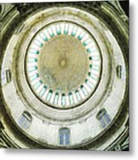Singapore National Museum's Domed Ceiling Metal Print
