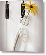 Single Rudbeckia Flower Metal Print by Amanda Elwell