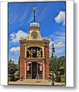 Sir John Bennett Clock Shop Metal Print