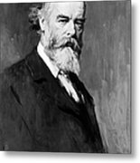 Sir Oliver Joseph Lodge Metal Print