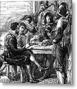 Sir Walter Raleigh Metal Print