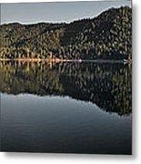 Siskiyou Lake Panorama Metal Print