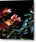 Six Roses Of The Night Metal Print