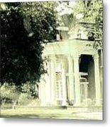 Sixty One Ghosts Live Here Metal Print