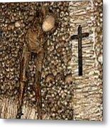 Skull Church Metal Print