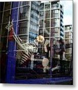 Skull Town Metal Print