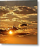 Sky Ablaze 1 Metal Print by Marty Koch
