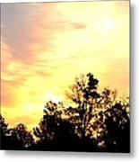 Sky Of Fire Metal Print