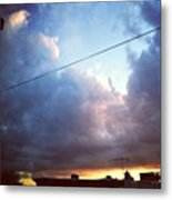 Sky Right Now Metal Print by Katie Cupcakes
