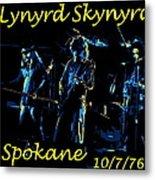 L S  In Spokane 1 Metal Print