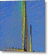 Skyway Crossing Metal Print by David Lee Thompson