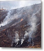 Slash And Burn Agriculture Metal Print