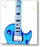 Slash's Guitar Metal Print by David Alvarez