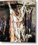 Slaughtered Ox Metal Print