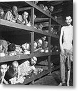 Slave Laborers In A German Metal Print