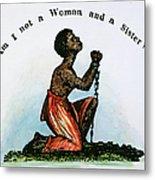 Slavery: Woman, 1832 Metal Print