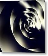 Sleek Modern Snail Metal Print