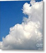 Sleeping Bear Cloud Metal Print