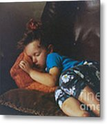 Sleeping Beauty Metal Print by Joanne Kocwin