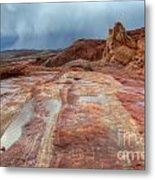 Slickrock Metal Print by Bob Christopher